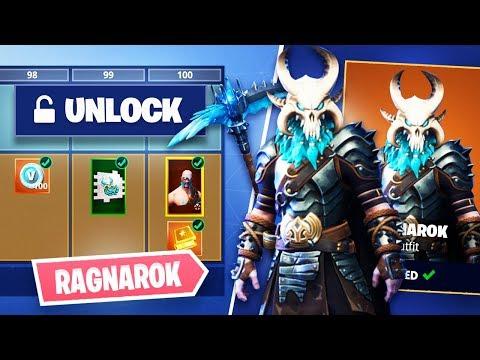 Xxx Mp4 Fortnite SEASON 5 Unlocking Ragnarok Skull Permafrost Pickaxe Fortnite Battle Royale 3gp Sex