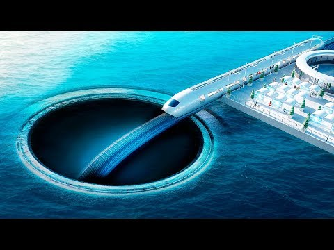 What If You Dug a Tunnel Under the Ocean