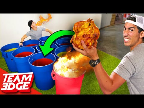 Giant Spicy Cup Pong Whole Chicken