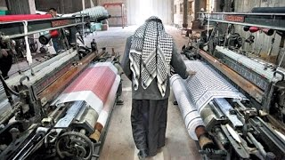 Visit to the Hirbawi Textile Keffiyeh Factory