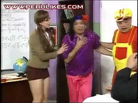 Lucecita la sexy profesora y Arturito 03 09 11 El Especial del Humor