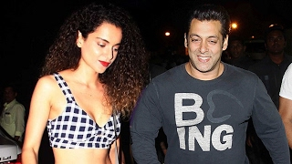 Salman Khan FINALLY PATCHES UP With Kangana Ranaut
