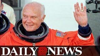 John Glenn, American Astronaut, U S  Senator And Fighter Pilot Dies At 95