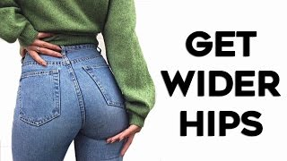 💙 How To Get BIGGER Hips and Butt🍑| 4 Exercises To Reduce Hip Dips! (Fuller Curves)
