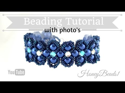Lady Luck Bracelet Beading Tutorial by HoneyBeads1 Photo tutorial
