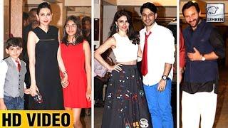 Kareena Kapoor's Christmas Party FULL VIDEO | Saif Ali Khan | Malaika Arora | LehrenTV