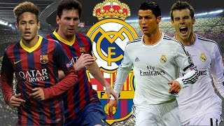 Lionel Messi & Neymar Jr vs Cristiano Ronaldo & Gareth Bale ~The Best Skils 2015|HD