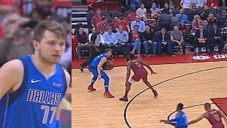 Luka Doncic Schools James Harden Using His Own Move Then Smiles At Chris Paul While Guarding Him!