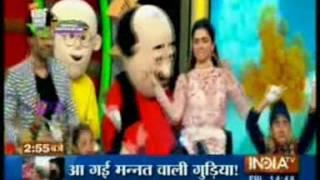 India TV - SRK & Deepika shake a leg at Kids Choice Awards 2016