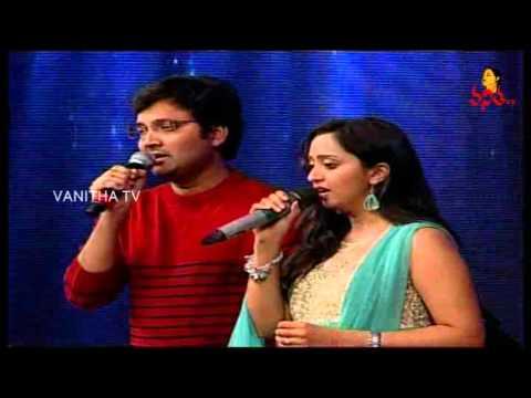 Singers Sri Krishna and Malavika Singing Performance at Abbayitho Ammayi Audio Launch