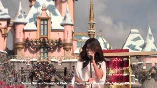 Selena Gomez- Disneyland Christmas Taping 2010 - Selena Sings Live