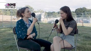 Sigrid at Wilderness Festival: debut album plans, eating pizza and Katy Perry at Glastonbury