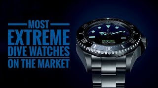 The Most Extreme Dive Watches on the Market | Armand The Watch Guy