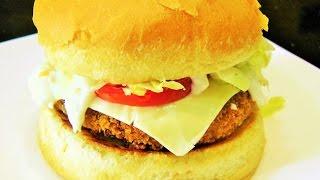 How to make McDonalds McVeggie Burger | Vegetable Burger recipe by madhurasrecipe