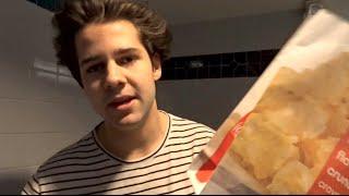 HOW TO GET FREE POPCORN AT MOVIE THEATER!! | David Dobrik