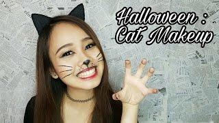Halloween : Cat Makeup | Savira Millenita
