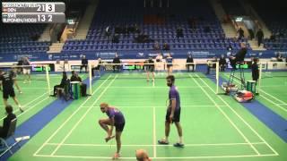 Badminton - Gravholt / Fruergaard vs Ruponen / Hogstrom (XD, R32) - Swedish Masters 2016