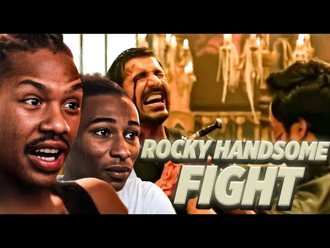 Rocky Handsome : Best Fight In Bollywood (Reaction Video)