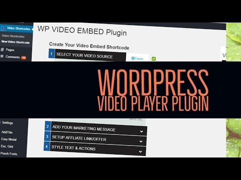 WordPress Video Player Plugin