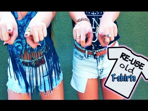 Ways to Upcycle Old T Shirts AndreasChoice