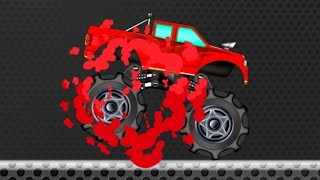Monster Truck | Monster Truck learn Colors | fun videos for children