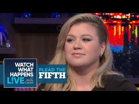 Kelly Clarkson On Calling Miley Cyrus A 'Pitchy Stripper' | Plead the Fifth | #FBF | WWHL