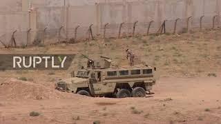 Jordan: Footage captures border crossing following seizure by SAA