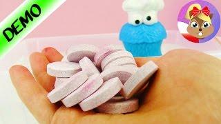 20 kąpielowych kulek naraz! Zabawa w kąpieli z Potworem Ciasteczkowym Play Doh!