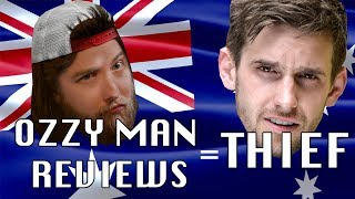 Ozzy Man Reviews Takes Content and Concepts For Cash - LewReview