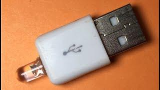 How to make USB LED Night Lamp at Home | DIY Mini USB Night Lamp