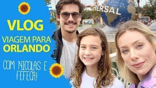 Nicolas E Fefe Viajam Comigo Para Orlando. Acompanhe TUDO! | Giselle De Prattes