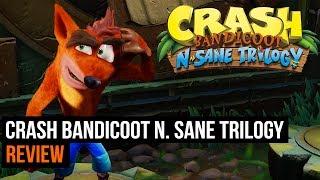Crash Bandicoot N. Sane Trilogy - Review (PS4)