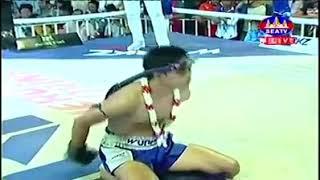 Van Voeun vs Pepsi (Thai) Seatv Khmer boxing 02/12/2018