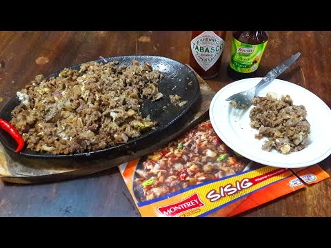 #46: Sizzling Sisig Using Monterey Ready To Cook Frozen Pack