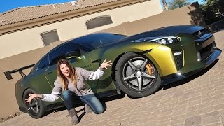 MOM REACTS TO GTR LAUNCH!