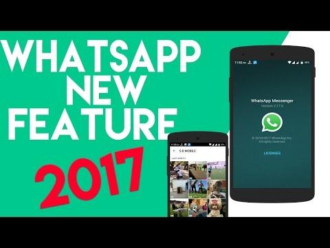 Whatsapp New Feature 2017#GIF SEARCH# HINDI