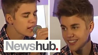 Justin Bieber 'As Long as You Love Me' live acoustic in New Zealand - 2012
