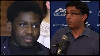 College Liberal Calls Trump Racist And Requests Dinesh D'Souza's Thoughts