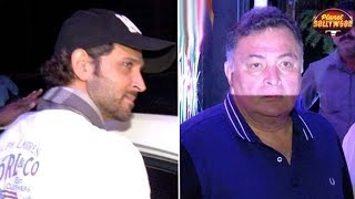 Hrithik Avoids Media At His Dad's B'day Party | Rishi Misbehaves With Photographers | Bollywood News
