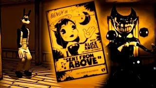 MAS TERROR Y MAS TINTA | BENDY AND THE INK MACHINE Capitulo DOS | CHAPTER TWO Español