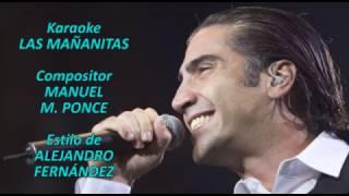 Mi Karaoke - Las Mañanitas - Alejandro Fernández
