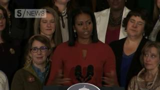 Michelle Obama: With hard work... anything is possible