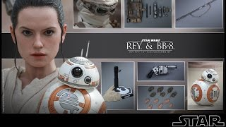 Hot toys - Rey & BB-8 - MMS 337- Star Wars VII : TFA - French Review Francaise
