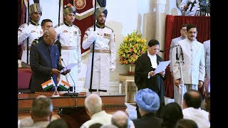 Shri. Justice Dipak Misra Sworn in as the Chief Justice of the Supreme Court of India-28-8-17