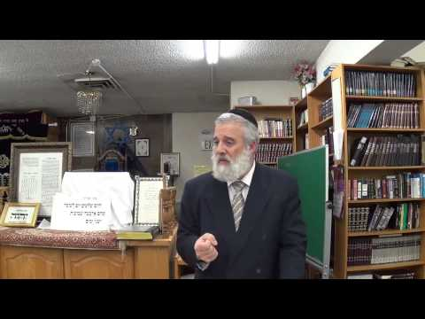 Tehilim (Psalms) Lecture 33 - Chapter 23