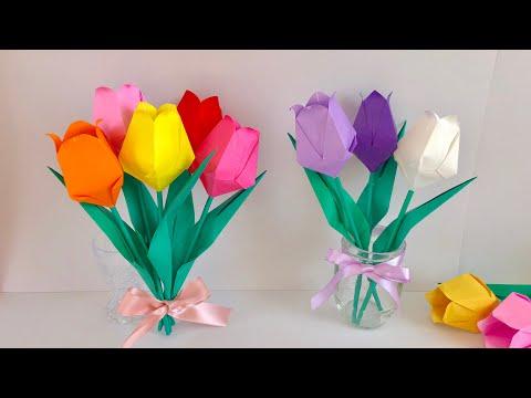 Xxx Mp4 【折り紙】チューリップ Origami Tulip 3gp Sex