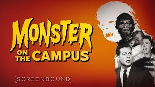 Monster On The Campus 1958 Trailer