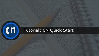 CN Quick Start