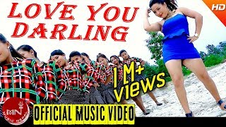 New Nepali Lok Dohori 2073/2016 | Love You Darling - Meghajan Kadayat & Purnakala B.C