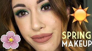Vivid Brights | Spring Makeup Tutorial 2017